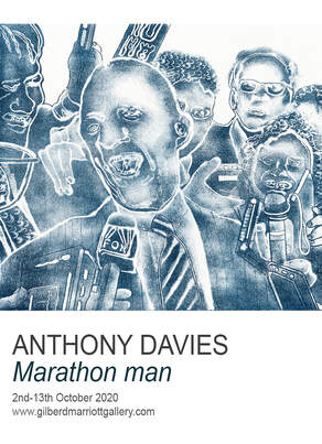 Anthony Davies - 'Marathon Man' , 2nd-13th October, Gilberd Marriott Gallery, 37 Courtenay Place, Wellington NZ, contemporary new zealand fine arts, new zealand printmaking, lithography